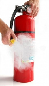healthcare fire extinguisher protocol