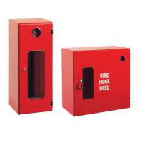 fire extinguisher box and hose reel box